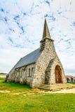 Παρεκκλησι Λα Garde της Notre Dame de εκκλησιών. Etretat, Νορμανδία, Γαλλία. Στοκ Εικόνα