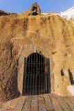Παρεκκλησι σπηλιών Artenara Στοκ Εικόνες