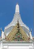 Παρεκκλησι στη λάρνακα στυλοβατών πόλεων, Μπανγκόκ, Ταϊλάνδη Στοκ Εικόνα