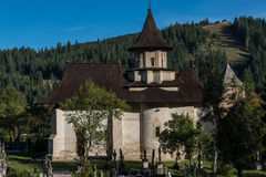 Παρεκκλησι στο μοναστήρι Sucevita Στοκ Εικόνες