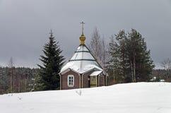 Παρεκκλησι στο ορθόδοξο μοναστήρι Στοκ εικόνα με δικαίωμα ελεύθερης χρήσης