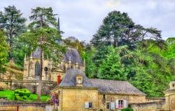 Παρεκκλησι στο Castle Usse στην κοιλάδα της Loire, Γαλλία Στοκ φωτογραφίες με δικαίωμα ελεύθερης χρήσης