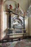 Παρεκκλησι του Αγίου Martin στη βασιλική Archicathedral στο Πόζναν στην Πολωνία Στοκ εικόνα με δικαίωμα ελεύθερης χρήσης