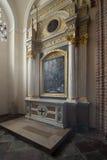 Παρεκκλησι του Αγίου Martin στη βασιλική Archicathedral στο Πόζναν στην Πολωνία Στοκ φωτογραφίες με δικαίωμα ελεύθερης χρήσης