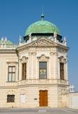 Παρεκκλησι του ανώτερου παλατιού πανοραμικών πυργίσκων στη Βιέννη Στοκ Εικόνα