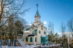 Παρεκκλησι του αδελφού Andre στη ρητορική Αγίου Joseph - Μόντρεαλ, Κεμπέκ, Καναδάς Στοκ Φωτογραφίες