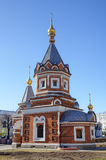 Παρεκκλησι του ST Αλέξανδρος Nevsky. Στοκ Εικόνες