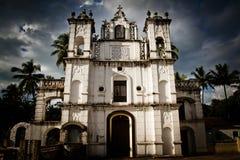 Παρεκκλησι του ST Anthony, Anjuna, Goa, Ινδία Στοκ Φωτογραφία