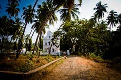 Παρεκκλησι του ST Micheal, Anjuna, Goa, Ινδία Στοκ Εικόνες