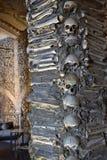 Παρεκκλησι των κόκκαλων, Evora, Πορτογαλία Στοκ Φωτογραφία