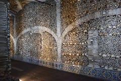 Παρεκκλησι των κόκκαλων, Evora, Πορτογαλία Στοκ Εικόνες