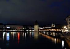 παρεκκλησι luzern γεφυρών Στοκ φωτογραφίες με δικαίωμα ελεύθερης χρήσης