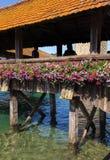 παρεκκλησι luzern γεφυρών Στοκ εικόνες με δικαίωμα ελεύθερης χρήσης