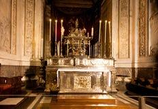 Παρεκκλησι Palatina, νορμανδικό παλάτι 12ου Γ, Παλέρμο στοκ φωτογραφίες με δικαίωμα ελεύθερης χρήσης