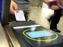 παρεμβολή του εισιτηρί&omicron Στοκ φωτογραφίες με δικαίωμα ελεύθερης χρήσης
