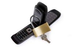 παρεμποδισμένο κινητό τηλέφωνο Στοκ εικόνες με δικαίωμα ελεύθερης χρήσης