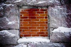 παρεμποδισμένο παράθυρο Στοκ Εικόνες