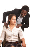 παρενοχλήσεις σεξουα&l Στοκ φωτογραφία με δικαίωμα ελεύθερης χρήσης