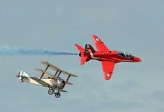 Παρελθόν και παρόν πιλότων Στοκ φωτογραφία με δικαίωμα ελεύθερης χρήσης