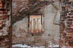 παρελθόν στο παράθυρο Στοκ Φωτογραφίες
