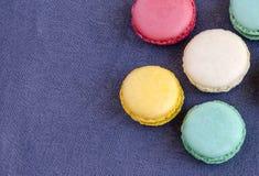 Παρισινά macarons Στοκ φωτογραφία με δικαίωμα ελεύθερης χρήσης