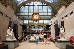 ΠΑΡΙΣΙ, ΓΑΛΛΙΑ - 7 ΙΟΥΝΊΟΥ 2014: Musee d&#x27 Orsay Στοκ Φωτογραφία