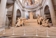 ΠΑΡΙΣΙ - ΤΟΝ ΙΟΎΝΙΟ ΤΟΥ 2014 CIRCA: Εσωτερικό Pantheon Ήταν originall στοκ εικόνες με δικαίωμα ελεύθερης χρήσης