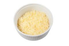 Παρμεζάνα τυριών σε ένα πιάτο 02 Στοκ Εικόνες