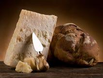 παρμεζάνα τυριών ψωμιού στοκ εικόνες με δικαίωμα ελεύθερης χρήσης