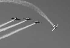παρουσίαση αέρα Στοκ Φωτογραφίες