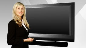 Παρουσίαση επιχειρησιακών γυναικών απόθεμα βίντεο