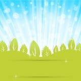 Παρουσίαση οικολογίας διανυσματική απεικόνιση