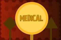 Παρουσίαση σημαδιών κειμένων ιατρική Εννοιολογική φωτογραφία σχετική με την επιστήμη της επεξεργασίας ιατρικής για την ασθένεια ή ελεύθερη απεικόνιση δικαιώματος