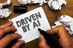 Παρουσίαση σημαδιών κειμένων Drive από το Α1 Εννοιολογική κίνηση φωτογραφιών ή ελεγχόμενος από έναν οδηγό κορυφαίας ποιότητας στη στοκ εικόνες με δικαίωμα ελεύθερης χρήσης