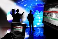 παρουσίαση σχεδίου υπ&omicro διανυσματική απεικόνιση