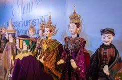 Παρουσίαση ταϊλανδικών παραδοσιακών μαριονετών Στοκ εικόνες με δικαίωμα ελεύθερης χρήσης