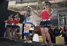 Παρουσίαση της Νότιας Αφρικής στην έκθεση τουρισμού Βελιγραδι'ου Στοκ φωτογραφία με δικαίωμα ελεύθερης χρήσης