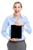 Παρουσίαση υπολογιστών ταμπλετών στοκ φωτογραφία με δικαίωμα ελεύθερης χρήσης