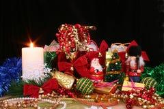 παρουσίαση Χριστουγέννων στοκ εικόνες