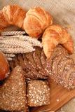 παρουσίαση ψωμιού ποικίλ Στοκ Φωτογραφίες