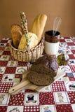 παρουσίαση 3 ψωμιού Στοκ Εικόνες