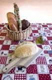 παρουσίαση 4 ψωμιού Στοκ εικόνες με δικαίωμα ελεύθερης χρήσης