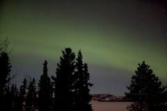 Παρουσίαση Borealis αυγής (βόρεια φω'τα) Στοκ φωτογραφία με δικαίωμα ελεύθερης χρήσης