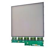 Παρουσίαση LCD που απομονώνεται Στοκ εικόνες με δικαίωμα ελεύθερης χρήσης