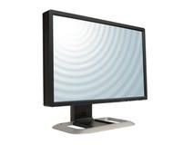 παρουσίαση LCD υπολογιστ Στοκ Εικόνες