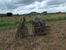 Παρουσιάστε για τη αναπαράσταση των αμερικανικών στρατιωτικών οχημάτων ww2 απόθεμα βίντεο