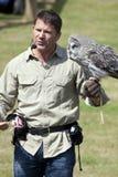 Παρουσιαστής άγριας φύσης του Steve Backshall Στοκ φωτογραφία με δικαίωμα ελεύθερης χρήσης