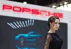 Παρουσιαστής της Porsche Στοκ φωτογραφία με δικαίωμα ελεύθερης χρήσης