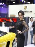 Παρουσιαστής της Porsche Στοκ εικόνες με δικαίωμα ελεύθερης χρήσης