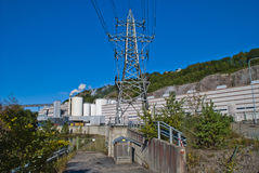 Παροχή ηλεκτρικού ρεύματος στο μύλο εγγράφου Στοκ Φωτογραφία